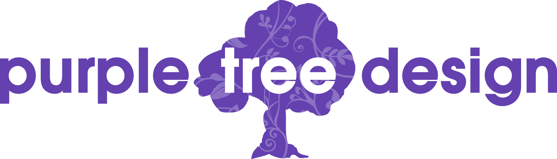 Logo Purple Tree Design